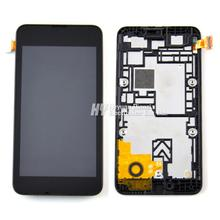 100% Original For Nokia Lumia 530 Lcd Display Touch Screen Digitizer Assembly With Frame  Free Shipping!