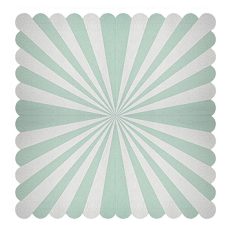 Mint Green Striped Dinner Paper Tableware Wedding Party Decoration Paper Plates Cups Napkins Birthday Baby Shower Party Supplies-in Disposable Party ...  sc 1 st  AliExpress.com & Mint Green Striped Dinner Paper Tableware Wedding Party Decoration ...