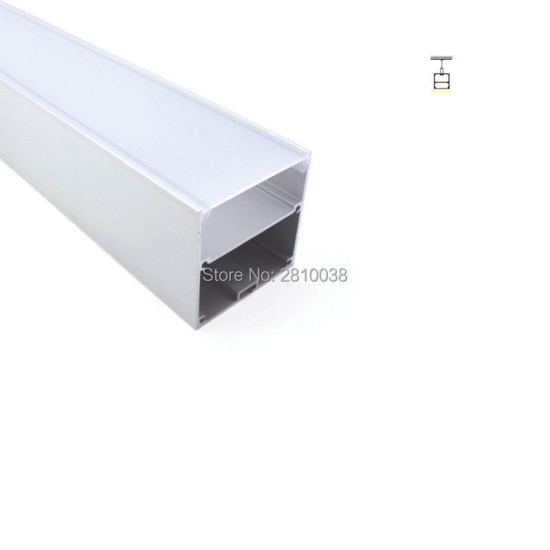 conjuntos 50x2 m lote forma de u levou perfil de aluminio tira conduzida luz praca led
