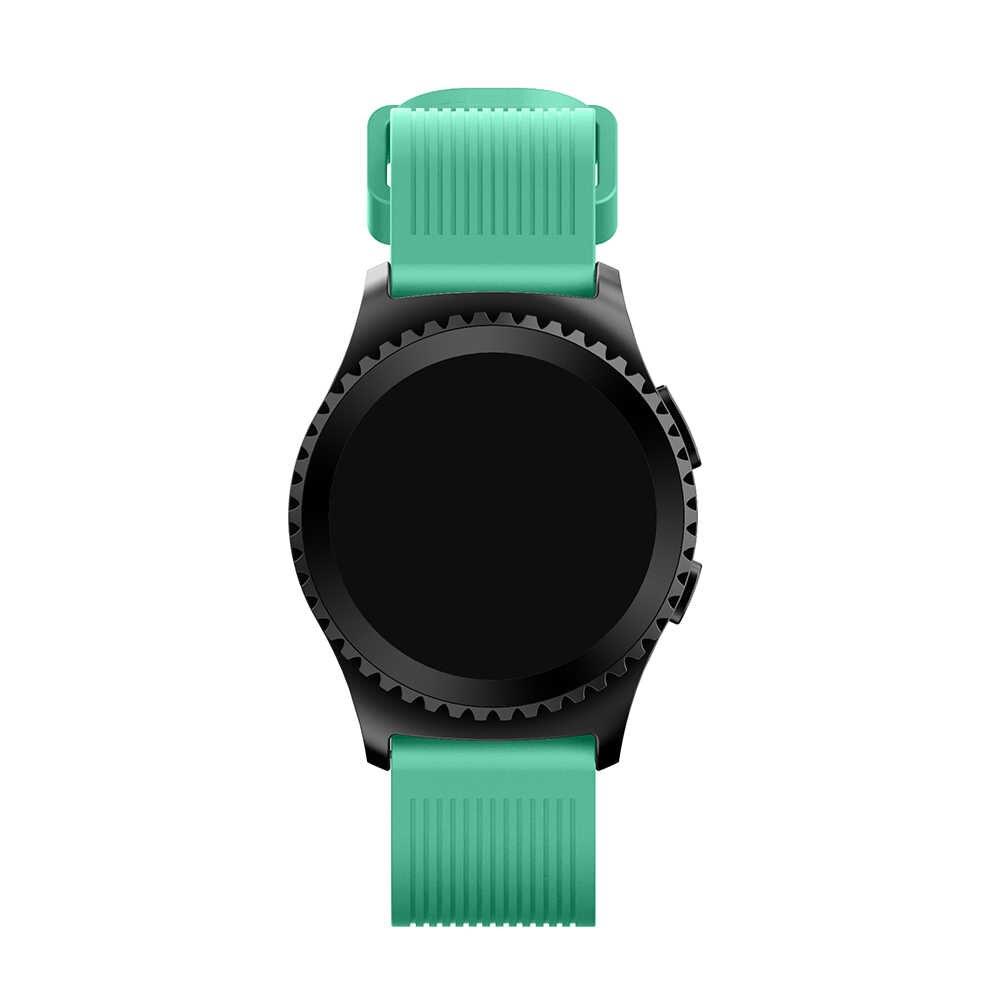 """שעון להקת עבור Samsung ציוד ספורט 20 מ""""מ החלפת צמיד רצועת יד עבור Samsung הילוך S2 קלאסי אביזרי רך סיליקון"""