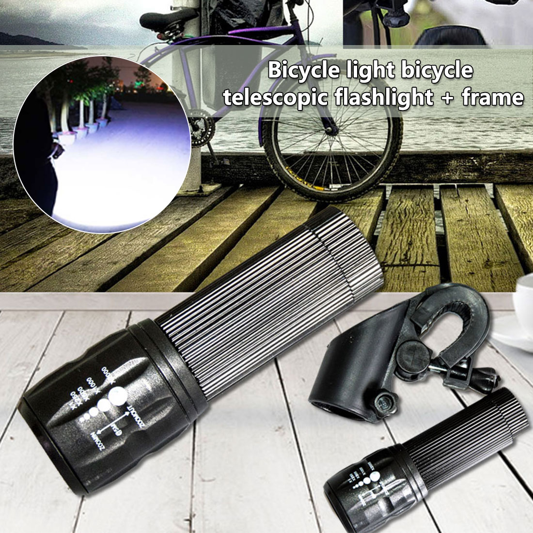 3 Modes Bike Light 450Lumens Q5 Front Bike Led Light Waterproof Zoomable Cycling Torch LED Flashlight   3 Modes Bike Light 450Lumens Q5 Front Bike Led Light Waterproof Zoomable Cycling Torch LED Flashlight