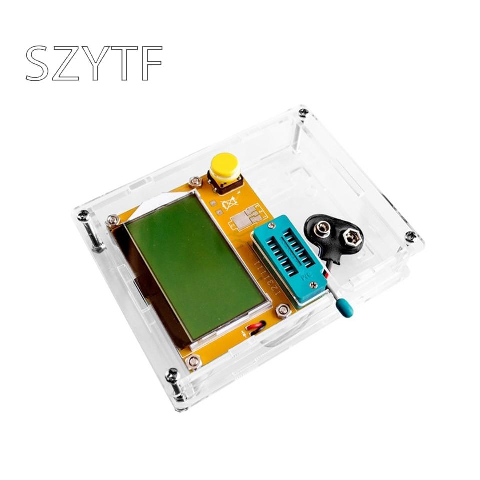Mega328 M328 LCR-T4 ESR mètre LCR led Transistor testeur Diode Triode capacité MOS PNP/NPN