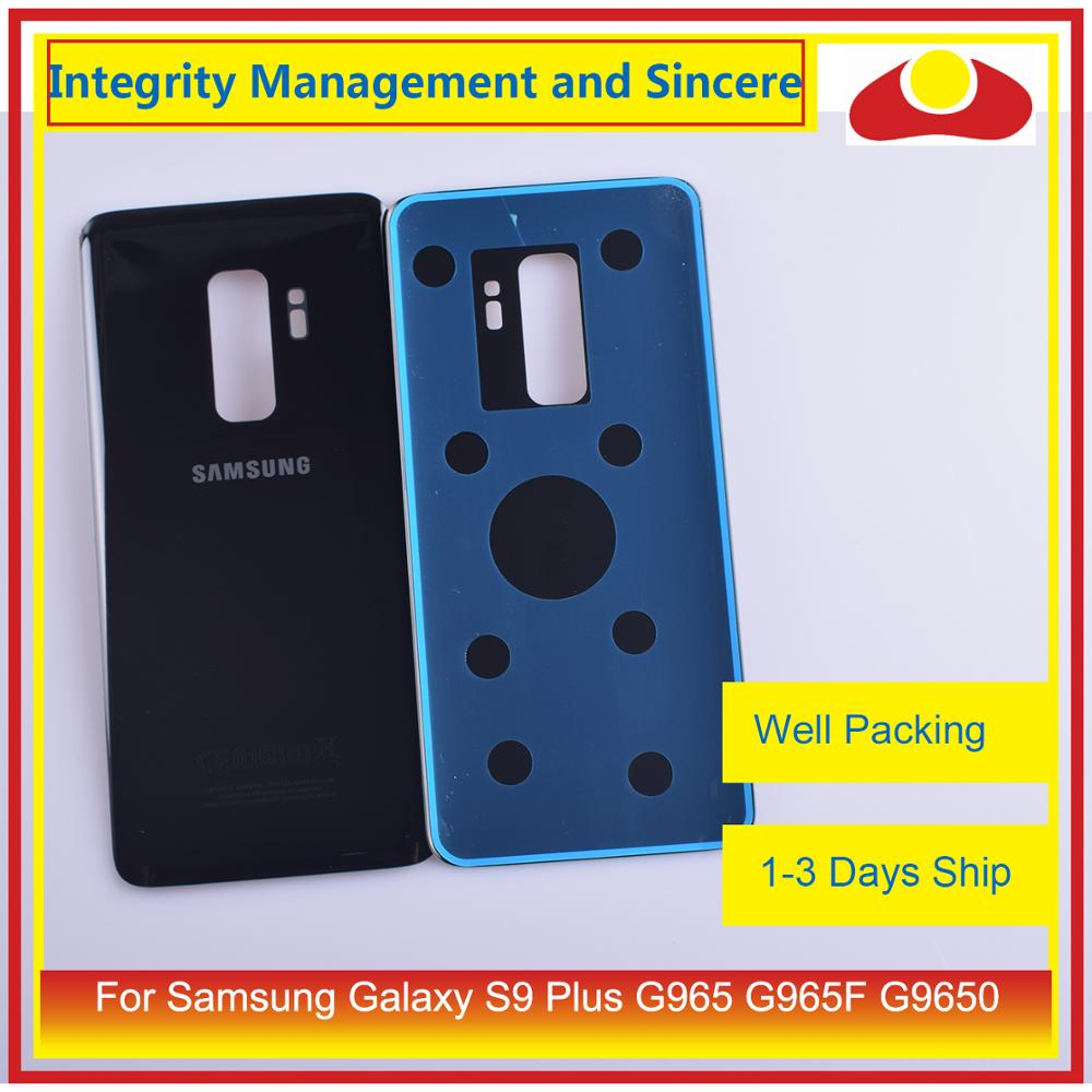 Image 4 - Original For Samsung Galaxy S9 Plus G965 G965F G9650 SM G965F Housing Battery Door Rear Back Glass Cover Case Chassis Shell-in Mobile Phone Housings & Frames from Cellphones & Telecommunications