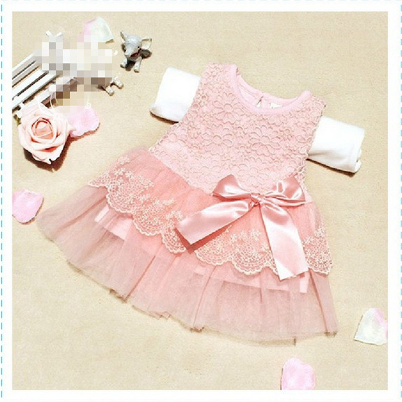 Fashion-Summer-Spring-Toddler-Girls-Baby-Kids-Bebe-Dress-Princess-Party-Cute-Newborn-Wedding-Big-Bow-Lace-Dress-Clothing-3