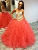 Free Shipping Strapless Sweetheart Corset Back Ball Gowns Prom Dresses 2016 New Styles Custom Make