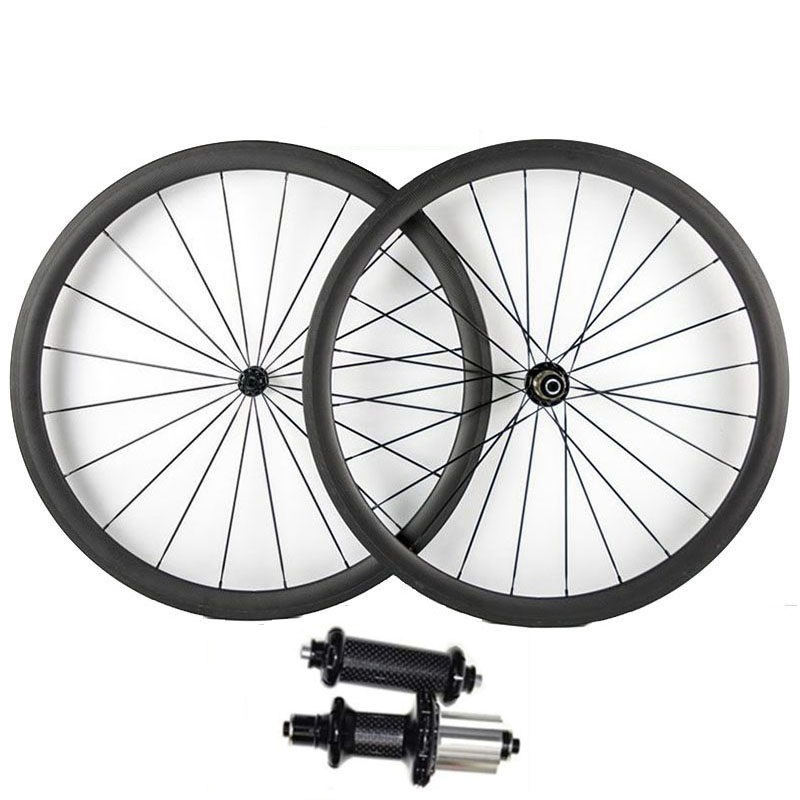 Catazer Full Carbon 700C 23/25mm Wide 38mm 50mm 60mm 88mm Power Way R36 Hub Road Bike Basalt Brake Surface Carbon Wheels