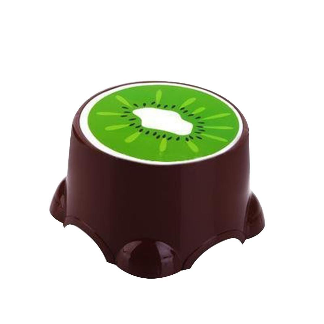 Household Small Size Fruit Pattern Stools Child Lovely Bath Non-slip Stool Home, Office, Kindergarten