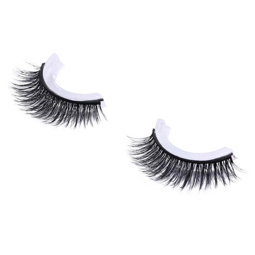 OutTop False Eye Lash 100% Real 3D Mink Eyelashes 1Pairs Eyelash Makeup Kit Professional Lashes Maquiagem Cilios Natural Mar 19 ...