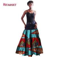 2017 Wholesale African Skirt for Women Bazin Riche Clothing Skirt Custom Africa Unique Original Plus Size 6xl Long Skirt WY1439
