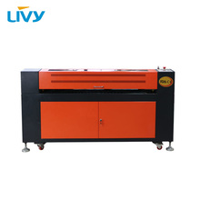 цена на LV-L1610 CO2 laser engraving cutting machine wood acrylic laser engraver cutter machine 1600*1000mm working area