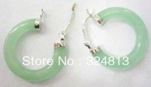 Fine jewelry sterling Hoop earring pair #1648