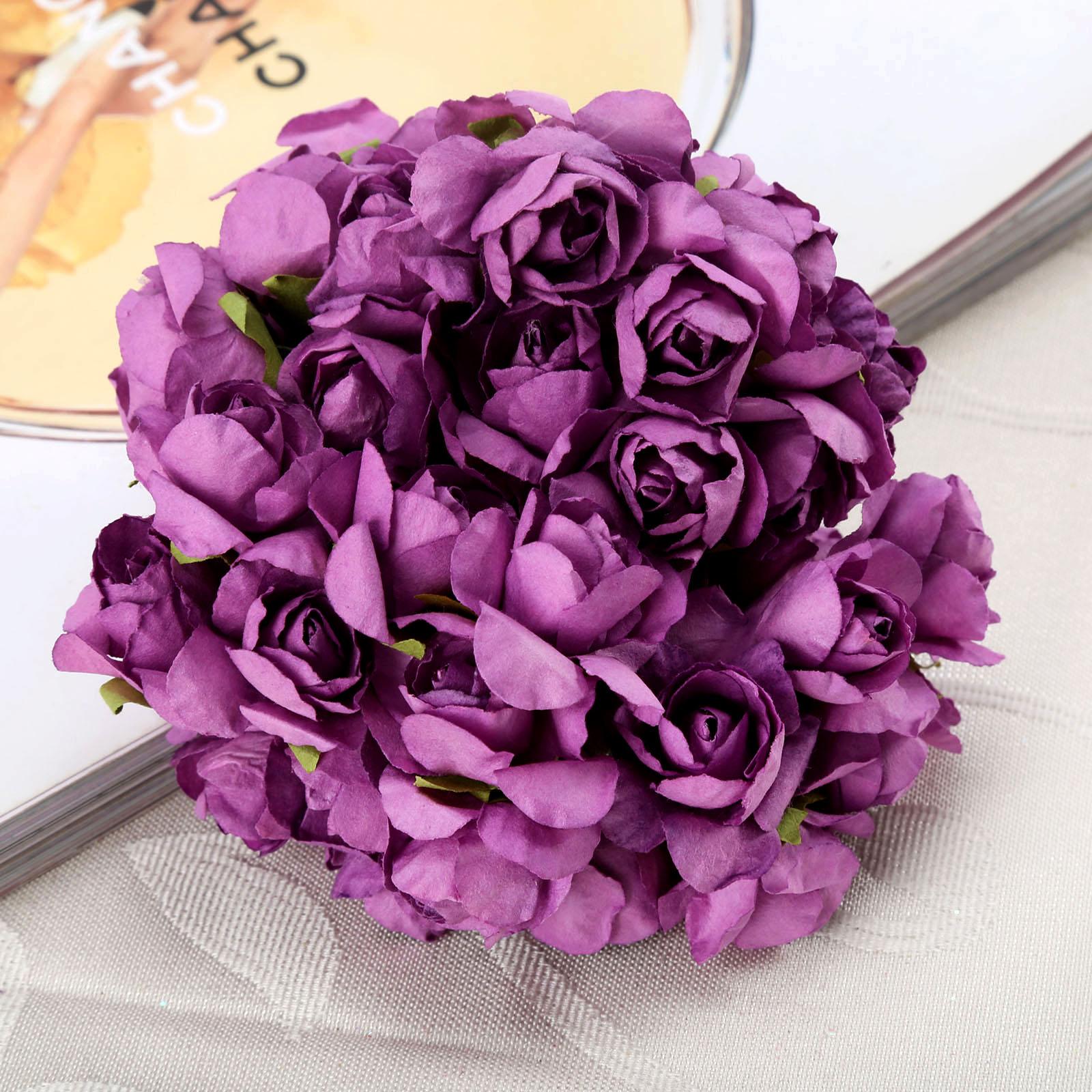 144pcs 25cm Cheap Artificial Mini Decoration Simulation Flower Ball