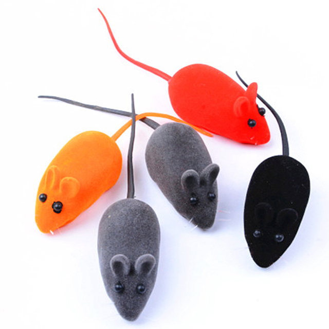1pcs Little Mouse Cat Toy Realistic Sound Pet Toys Mice For Cats Gatos Toys Mouse Products Gatos Productos Para Mascotas 2