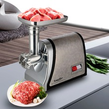 1800W Household stainless steel electric meat grinder 3 mince screens full copper motor meat grinder Sonifer