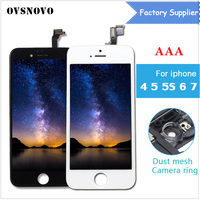 AAA Quality LCD 3D Touch Screen For IPhone 4 5 5S 6 7 LCD Display Assembly
