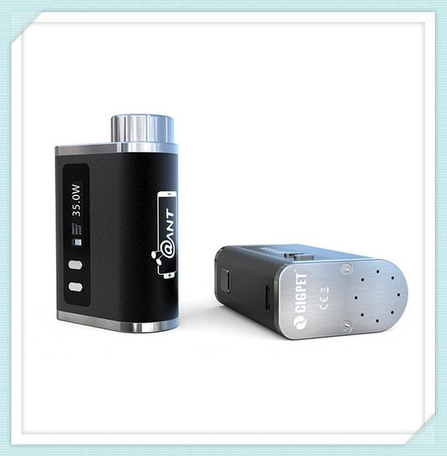 Origina ijoy cigpet hormiga tc 80 w caja mod cigarrillo electrónico batería apoyo firmware actualizable completo control de la temperatura de salida