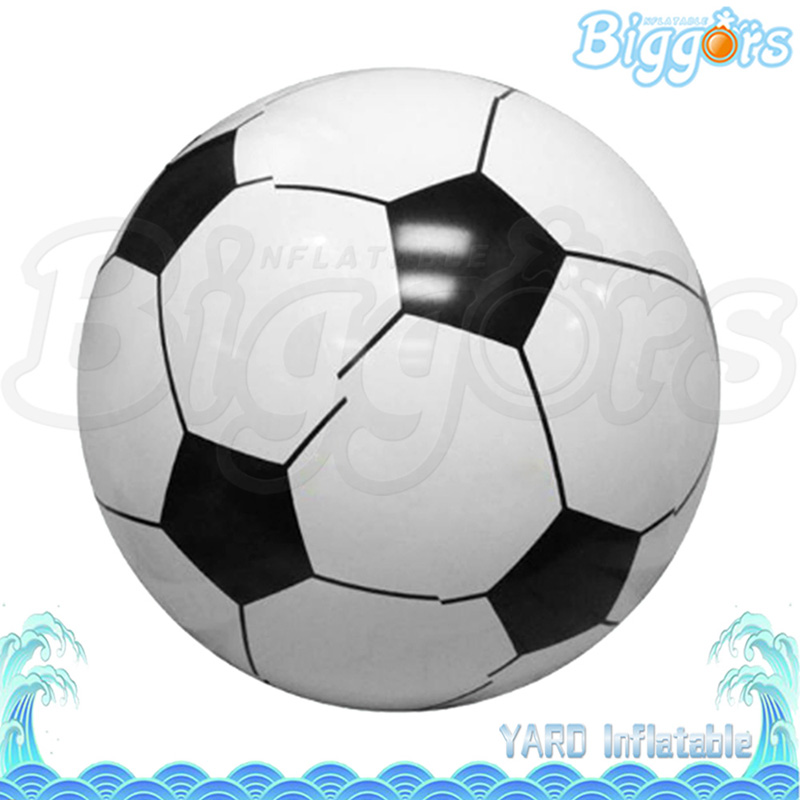 Promotional Inflatable Football Ball Giant Inflatable Beach Football For Sale 6 5ft diameter inflatable beach ball helium balloon for advertisement