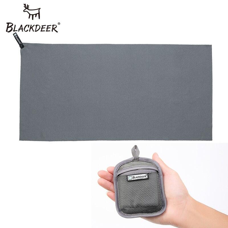 Blackdeer de secado rápido Toalla de microfibra de natación corriendo 75x40 cm 120*60 cm ultraligero al aire libre de absorción de agua toalla de 2 colores