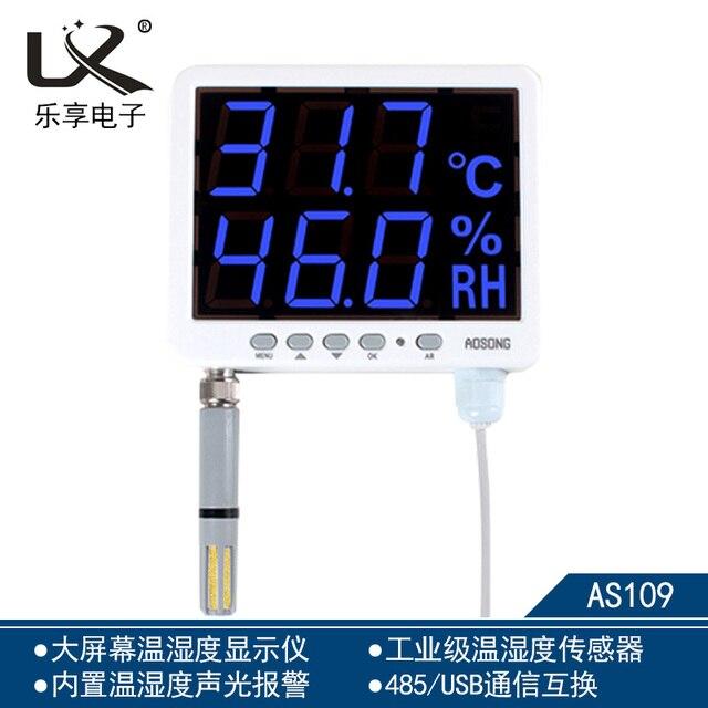 AOSONG AS109 AS109B Nhiệt Độ và Độ Ẩm ẩm kế cảm biến RS485 giao tiếp