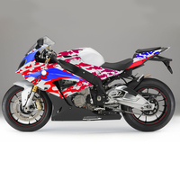 KODASKIN Motorcycle 3D Carbon ABS Plastic Injection Fairing Kit Bodywork Bolts for BMW S1000RR 2017 2018