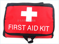 Factory direct Red First Aid Kit Emergency Survival First Aid Kit Bag  Medical Bag When Camping In Outdoor size 21.5*16*3.5CM