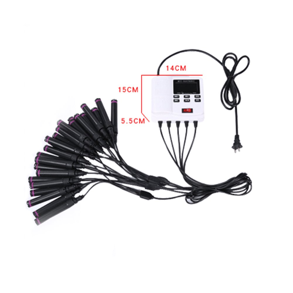 medium resolution of hot sale whole network led digital perm machine portable mini heated curling iron thermal switch at