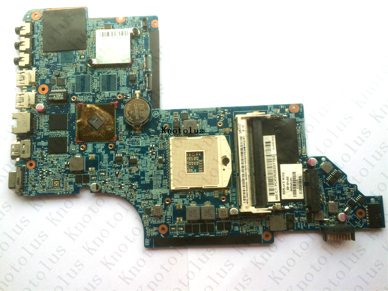 665346-001 For hp Pavilion DV6 DV6-6000 laptop motherboard HM65 HD67501G ddr3 integrated graphic Free Shipping 100% test ok free shipping 571186 001 for hp pavilion dv6 dv6 1000 dv6 2000 series motherboard all functions 100
