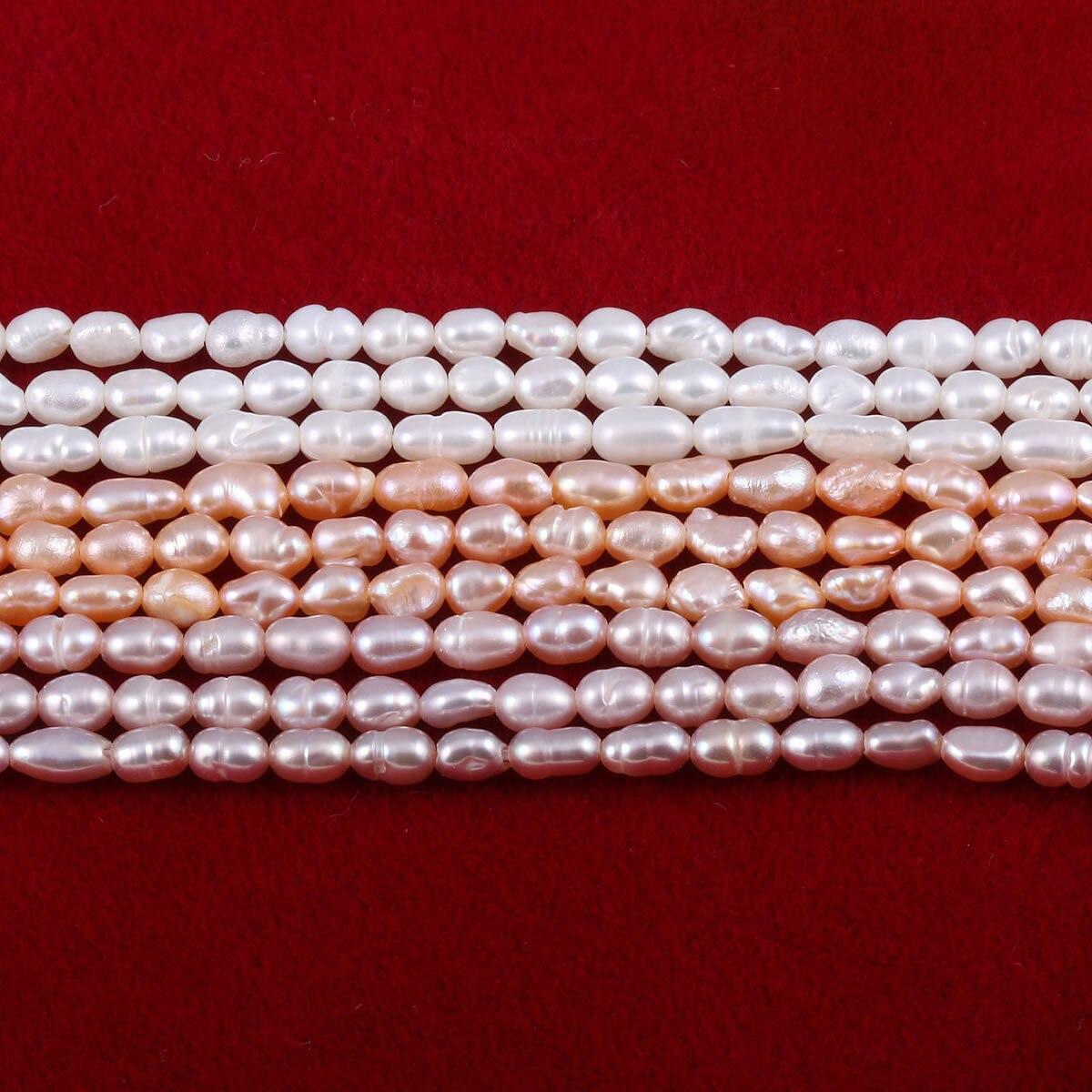 Бусы из натурального пресноводного жемчуга, маленький размер, высокое качество, 36 см., бусины для рукоделия, для женщин, ожерелье, браслет, изготовление ювелирных изделий