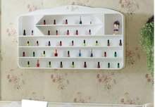 Лак для ногтей настенный лак белый косметический дисплей маникюрный