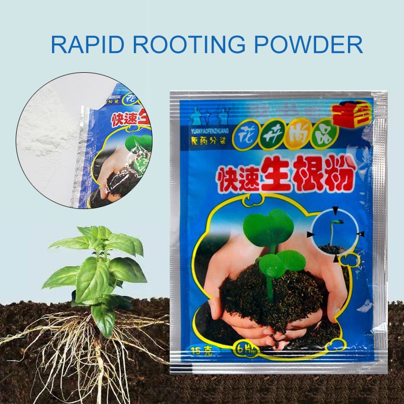 Garden Supplies Fast Rooting Powder Bonsai Plant Growth Regulator Growing Root Seedling Germination Cutting Seed Aid Fertilizer