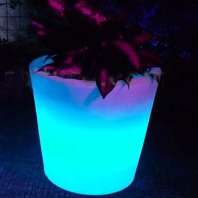 Led pflanzer lichter garten solar led topf lichter blumenvase ...