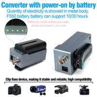HSV191Bat HDMI zu SDI Konverter mit Batterie Lade 1080 p Mini HDMI zu SD-SDI/HD-SDI/3G-SDI Adapter Konverter
