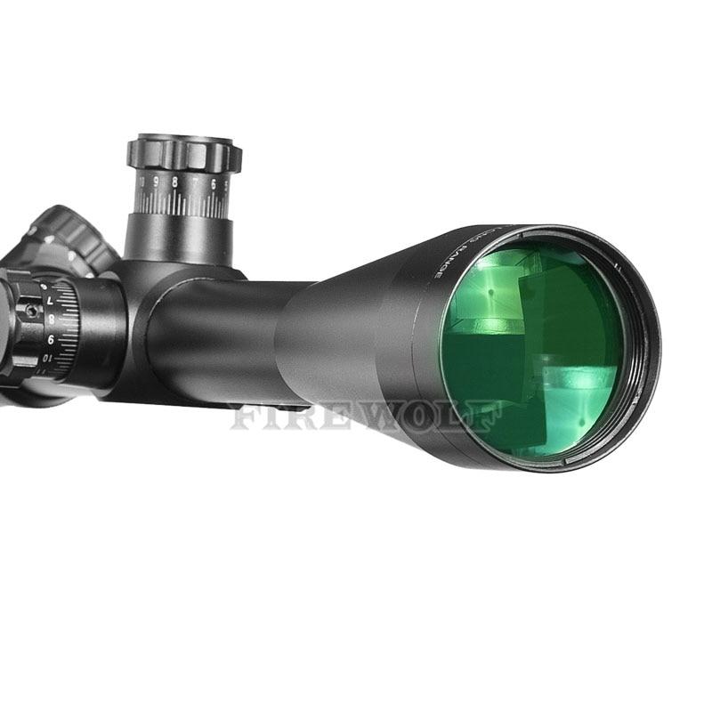 6-24x50 m1 óptica tática riflescope sniper caça