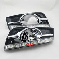High With Ten Sinal D 12 V Car LED DRL Luzes Diurnas Para For Chevrolet Cruze