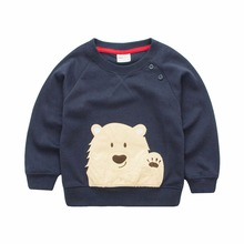 2017 trends Spring Autumn Winter baby boys long sleeve Cartoon casual super hero  t-shirt t shirts for boys girls 1-6 years