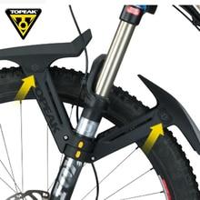 TOPEAK 26 27.5 29 cal MTB błotnik przód roweru tylna owiewka dla gruby rower rower osłona przeciwbłotna górski błotnik rowerowy