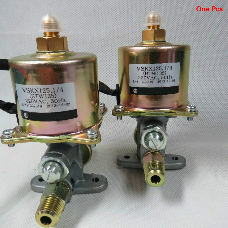 Non capacity type electromagnetic solenoid pump Burner alcohol base material diesel gasifier stove accessories VSC90A5 VSC63A5