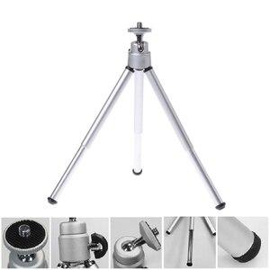 Image 4 - Черный/Белый Универсальный портативный мини штатив, держатель для камеры Canon, Nikon, видеокамеры, Новинка