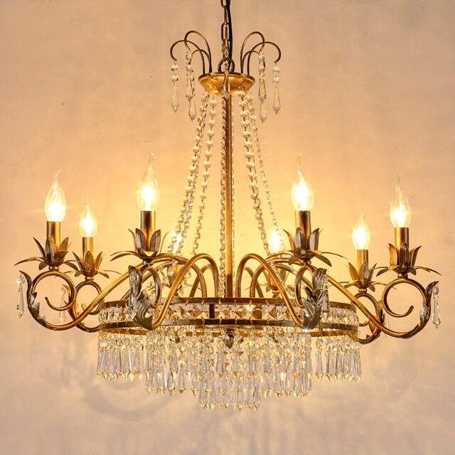 Retro illuminazione lampadari soggiorno lampadario in ferro ...