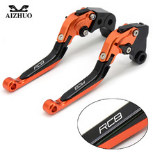 Motorcycle Brake Clutch Lever Moto Folding Extendable For KTM RC8 RC8R R 2009-2016 2011 2012 2013 2014 2015 2016