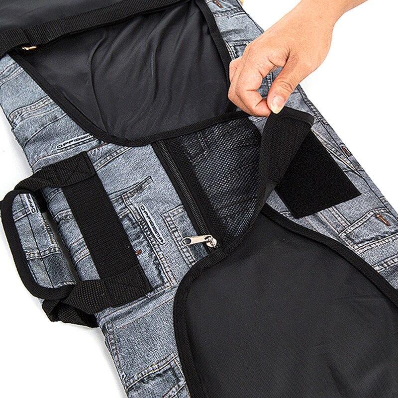 Skiing Bags Special Fashion Ski Bag Snowboard Bag Bag Denim Dumplings Ski Board Non-slip Veneer Cover