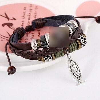 Leder Armband 1