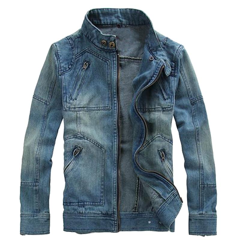 la qualité d'abord vraie affaire styles frais US $21.38 27% OFF Men Jacket Coat Streetwear Denim Jacket Chaqueta Hombre  Veste Homme Jaqueta Jeans Masculina Outwear Clothes Cowboy Casual Modis-in  ...