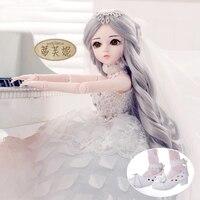 Сказочная Кукла Барби 60 совместное платье Барби SD кукла красивая девушка подарок моделирование принцесса кукла игрушки