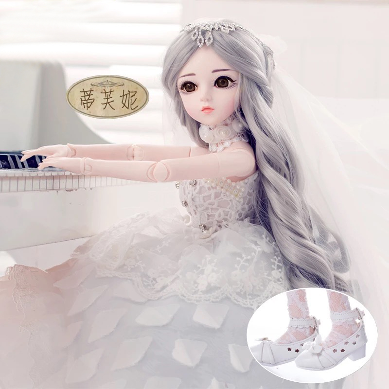 Fantasy Barbie doll 60 joint dressup Barbie SD doll pretty girl gift simulation princess doll toys цена