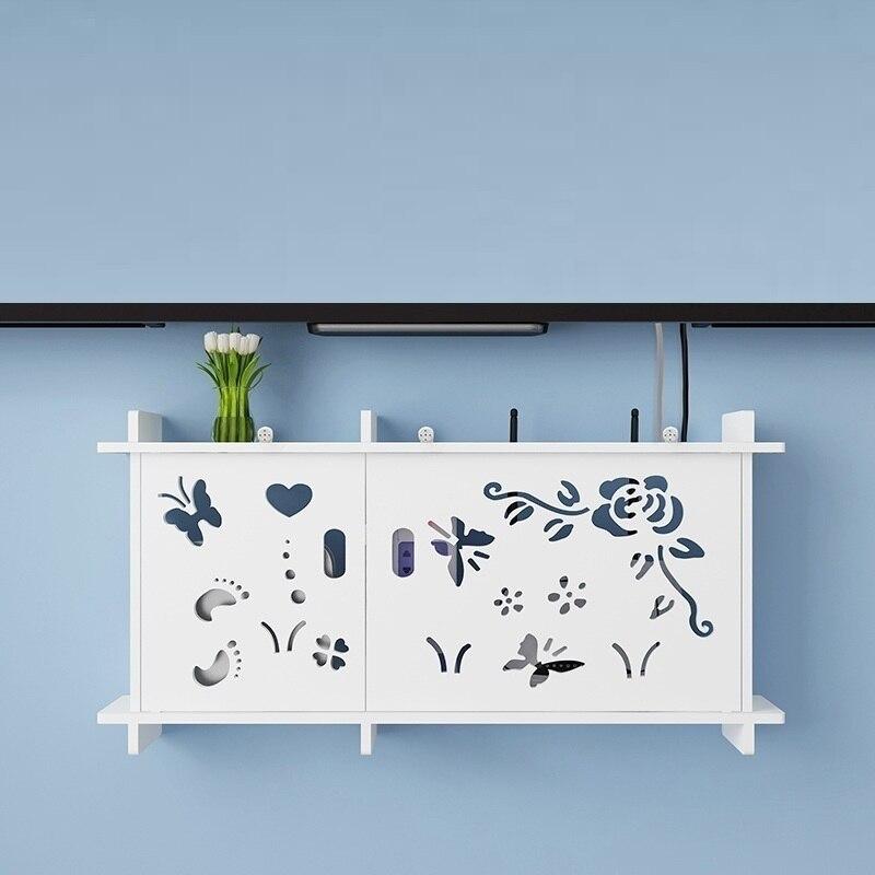 Europe salon créatif WIFI décoration collection TV set-top piles cintre étagère rack prise couverture armoire stockage