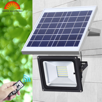 10W 20 LED Outdoor Solar Light Outdoor Billboard Football Field Park Garage Emergency IR Remote Control SMD Solar Flood Light