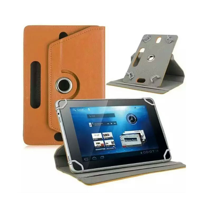 """Myslc leather case For ASUS MeMO Pad HD 7 ME173X/Nexus 7 /ME572CL 7"""" tablet Leather Cover Case 360 Degree"""