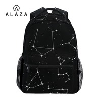 037773bffe9b9 ALAZA 2019 Black Backpack Sky Stars Printing Women Big Capacity Travel Bag  Student School Bag Laptop. US $39.98 US $24.79. ALAZA 2019 Siyah Sırt  Çantası ...