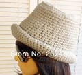 ladies''s fashion bucket Fisher Leisure Knitted hat Beanie Cap Autumn Spring Winter multi colors unisex